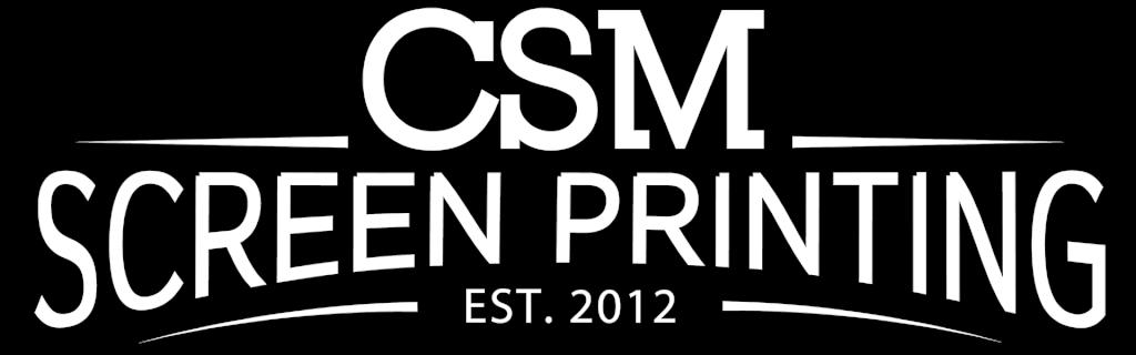 tansparent CSM Screen Printing